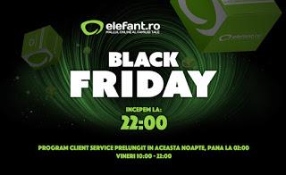Black Friday Elefant