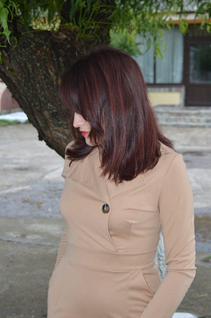 Rochie pardesiu FashionMia