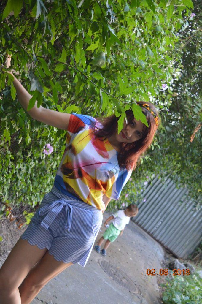 outfit colorat Dresslily