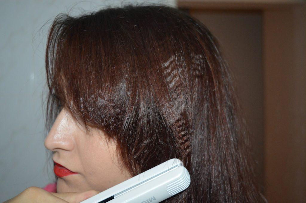 placă de creponat părul Visuel
