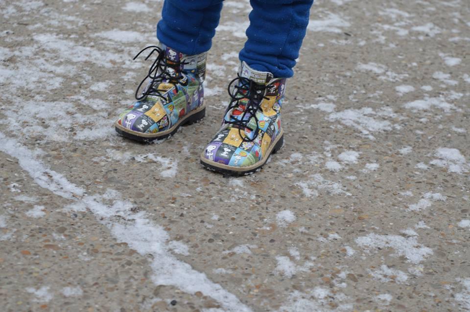 ghetuțe pentru copii AriAna Baby Shoes