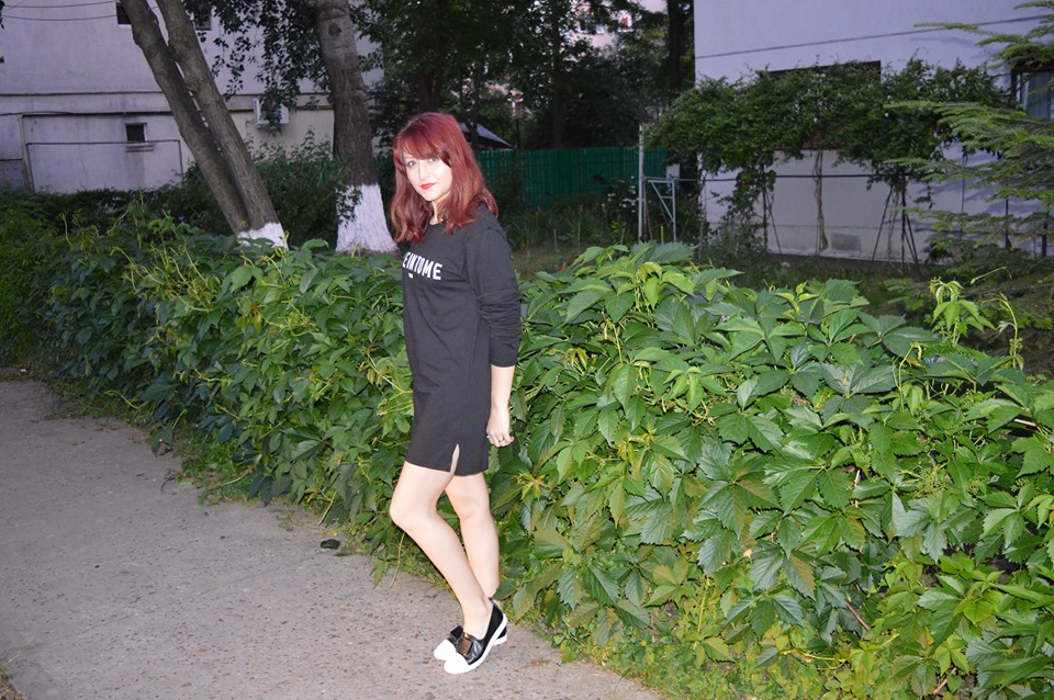 rochie oversized