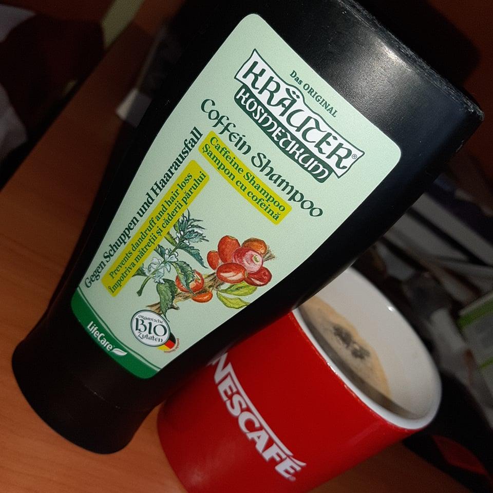 șampon cu cofeină