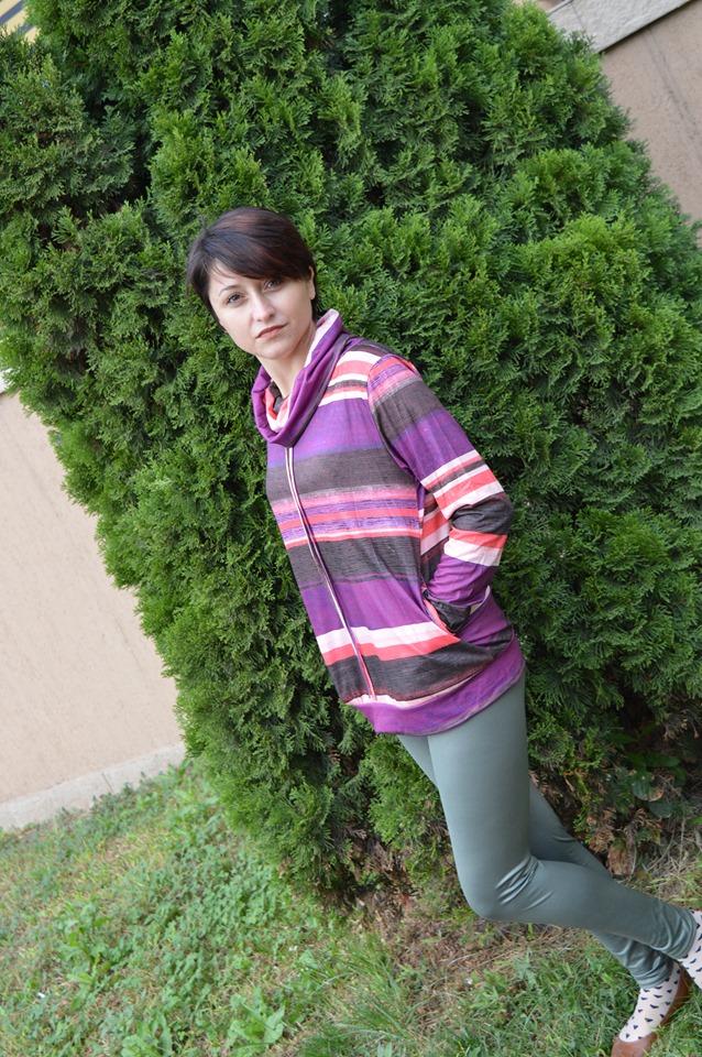 bluză multicoloră Dresslily