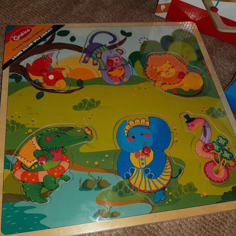 puzzle din lemn Pici.ro