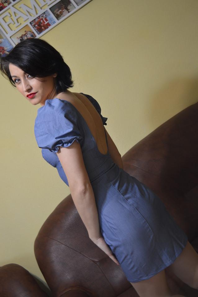 rochie de blugi