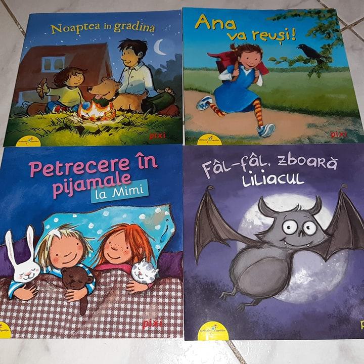 cărți din colecția Pixi