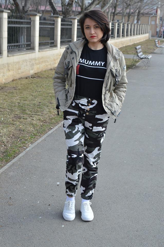 pantalony army