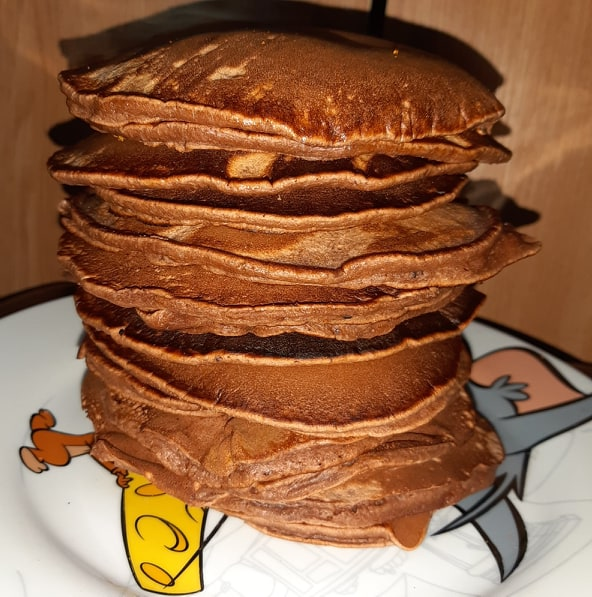 rețetă pancakes cu cacao