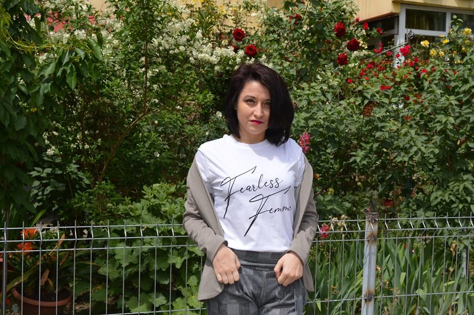 tricou Fearless Femme
