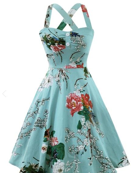 rochii colorate de vară de pe Dresslily