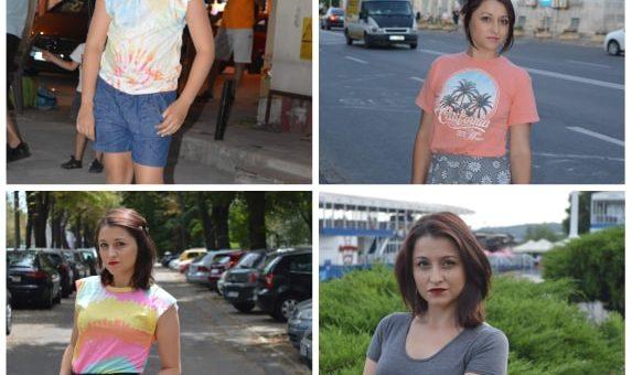 tricouri colorate