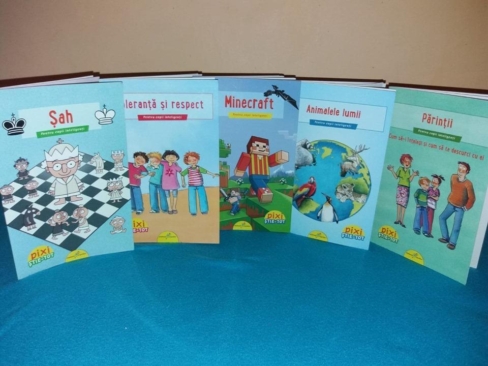 cărți pentru copii inteligenți