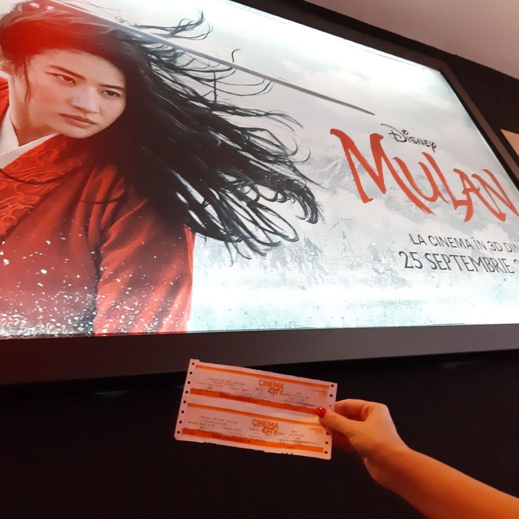 film în format 4DX - Mulan