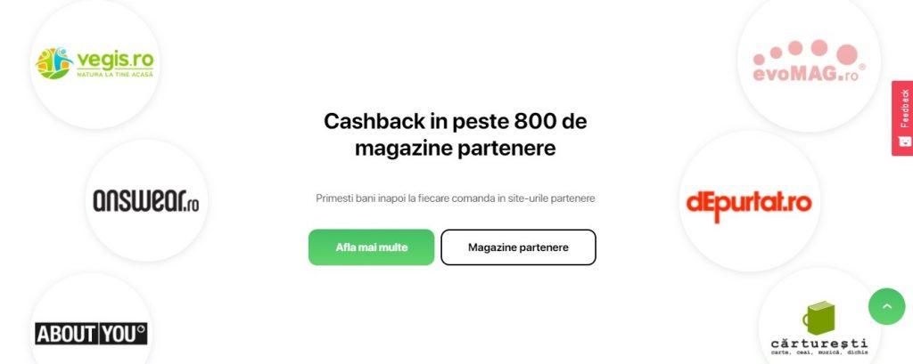 platformă de cashback