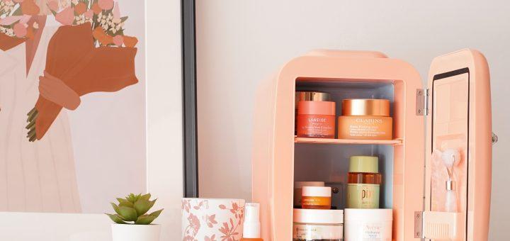 mini frigider de cosmetice