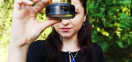 crema cu retinol și acid hialuronic de la Keida Skin